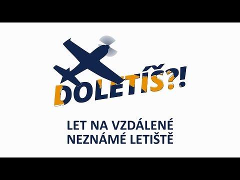 """Teaser """"Let na neznámé vzdálené letiště"""". Celé video najdete na webu www.doletis.cz."""