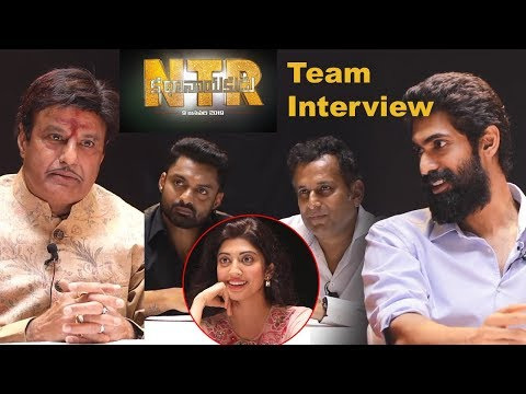 ntr-biopic-movie-team-chit-chat