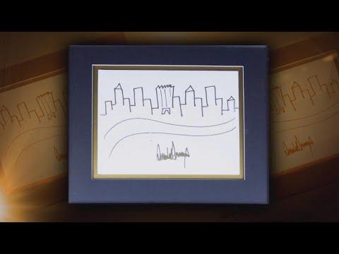 لوحة ترامب معروضة للبيع في مزاد علني