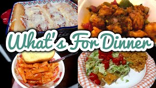 WHAT'S FOR DINNER || CHEAP & EASY FALL MEALS