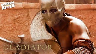 Gladiator | First Battle In The Arena | Russell Crowe and Joaquin Phoenix