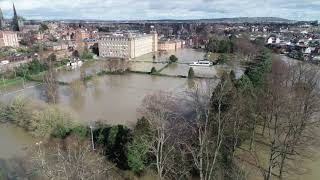Shrewsbury Flood 25/2/20