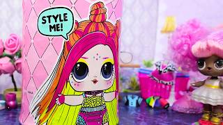 Куклы ЛОЛ Сюрприз   Сборник мультики #25 Игрушки LOL Surprise dolls