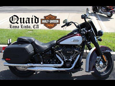 2021 Harley-Davidson Cruiser Heritage Classic S at Quaid Harley-Davidson, Loma Linda, CA 92354
