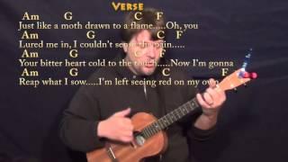 Stitches Shawn Mendes Ukulele Cover Lesson C Chords Lyrics