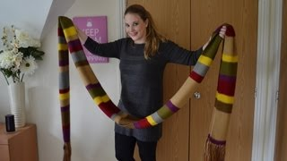 The Doctor Who Scarf Challenge!