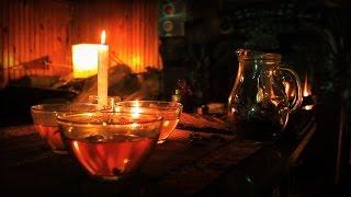 nice tea ceremony at fireplace 在壁爐旁茶道 уютная чайная церемония у камина 暖炉での茶道 teezeremonie am kamin