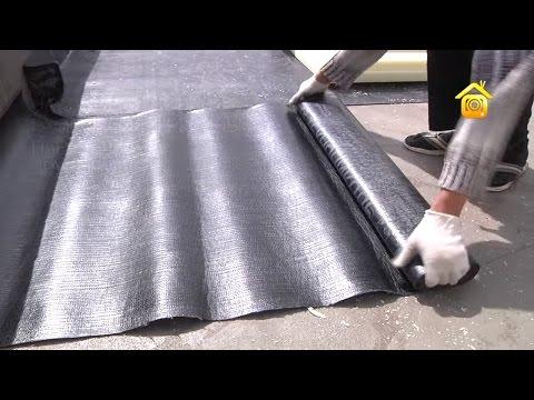 Гидроизоляция крыши из рубероида