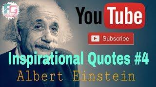 Inspirational Video (Quotes) #4 | Motivational Video | Albert Einstein | Fun Grave