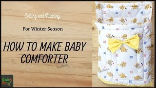HOW TO MAKE BABY COMFORTER