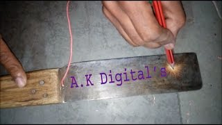 How to Write Electric Name With Pencil A K Digital's