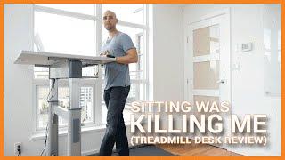I Got A Treadmill Desk Because Sitting Was Killing Me (Treadmill Desk Review)