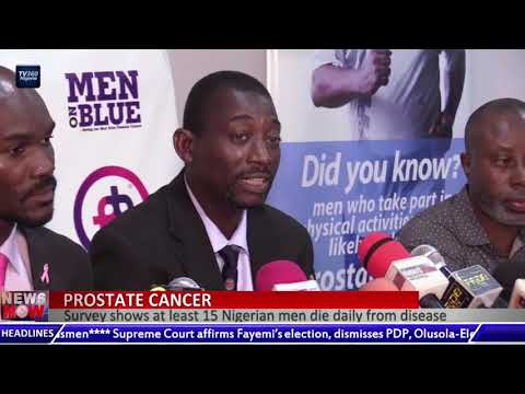 Prostate Cancer: Survey shows at least 15 Nigerian men die daily from disease