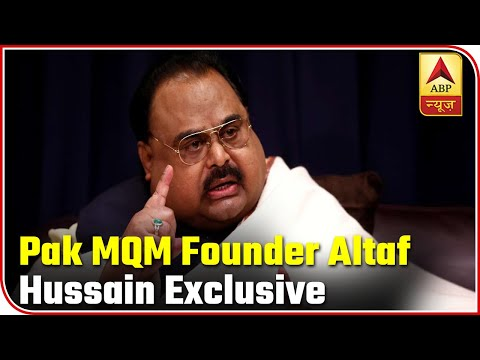 EXCLUSIVE Interview With Pak's MQM Founder Altaf Hussain   Master Stroke   ABP News