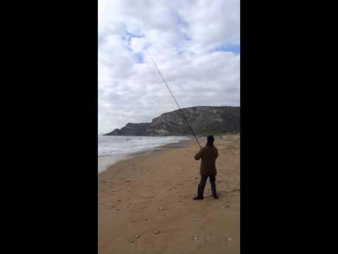 Inverno pescando vicino a Kazan