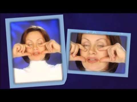 Упражнение для подтяжки кожи лица