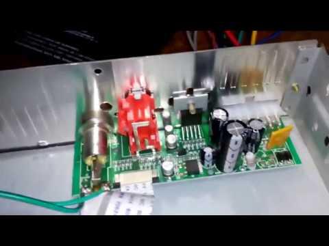 Ремонт китайской магнитолы JVGok - замена микросхемы усилителя YD1028!