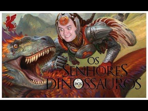 Resenha do Rei Grifo: Os Senhores dos Dinossauros