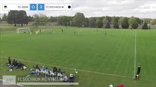 Pôle Espoirs P14 - FC Sochaux Montbéliard (1-4)