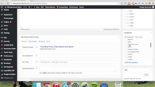 Wordpress | Creating a blog post on Enfold theme
