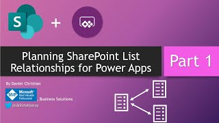 Power Apps: Planning SharePoint Lists Relationships