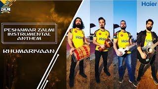 Mazbeet Zalmi | Peshawar Zalmi Official Instrumental Anthem | Khumariyaan | PSL4