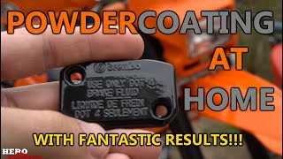 Powder Coating is EASY and AFFORDABLE! (EastWood)