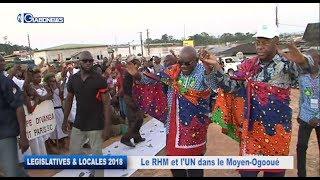 GABON / ELECTIONS LEGISLATIVES ET LOCALES 2018 : RHM et l'UN dans le Moyen-Ogooué