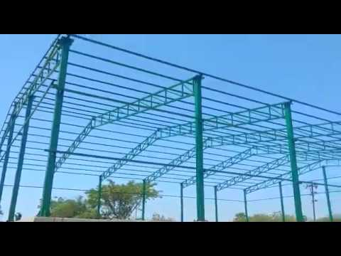 Industrial Roofing Shed Construction Service