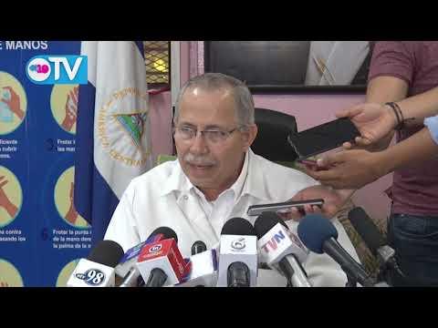 Nicaragua: Se mantienen 2 casos positivos por Covid-19 y 12 personas en seguimiento