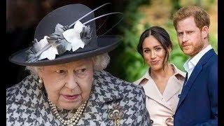 女王下達最終命令:剝奪梅根王室頭銜,安保費免談,裝修費退還|宮廷秘史|