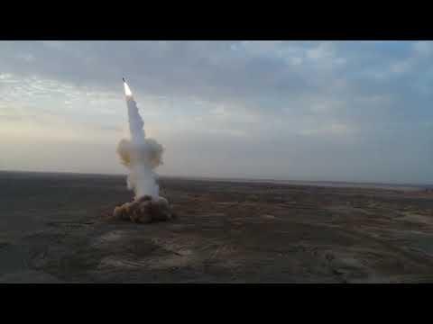 İran'ın Fırlattığı Füzenin İlk Görüntüleri