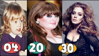 Adele ♕ Transformation From 04 To 30 Years OLD