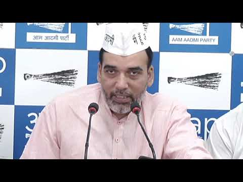 AAP Delhi Convenor Gopal Rai Introduces Auto wing and E-Rickshaw wing