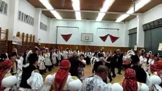 preview picture of video 'Hody Traplice 2011 - večerní ples'