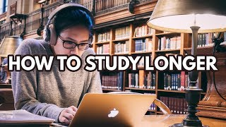 How To Study For Longer Periods | 5 Concentration Tips!