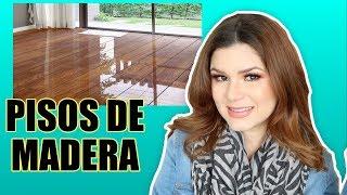 Cómo limpiar pisos de madera