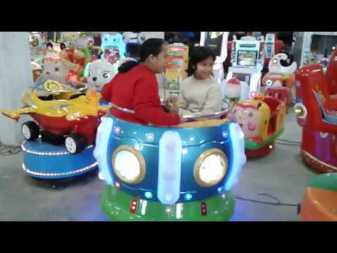 Circulating Bowl Kiddie Amusement Ride Game