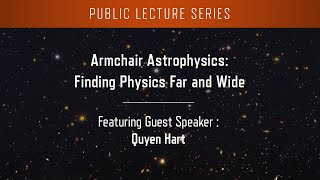 Armchair Astrophysics: Finding Physics Far And Wide