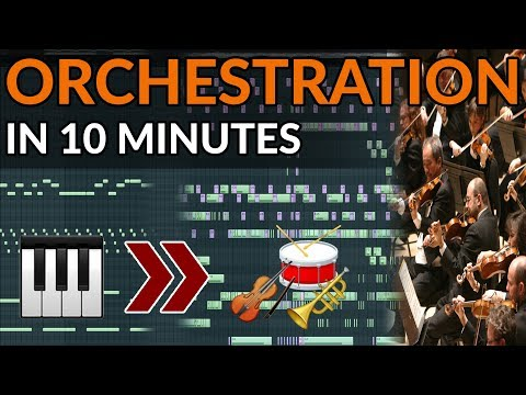 From Piano To Orchestra in 8 Minutes - How To Write Orchestral Music