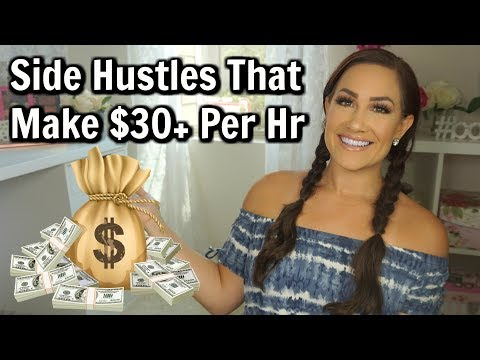 HIGHEST PAYING SIDE HUSTLES OF 2018 | EASY WAYS TO MAKE MONEY FROM HOME 2018