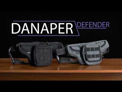 Поясная сумка Danaper Defender CITY, Black для скрытого ношения оружия, чёрная