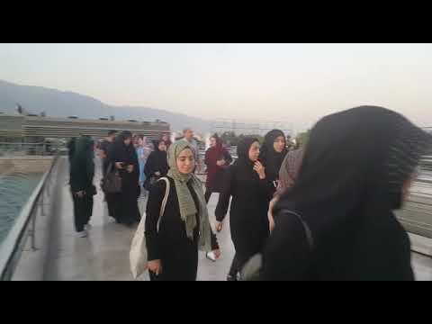 TAYDER Öğrenci Kafilesi Tahran Milad Televizyon Kulesinde
