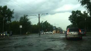 Наводнение, г. Барнаул