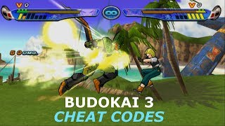 Budokai 3 Cheat Codes : Ultimate body cheat