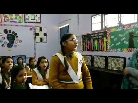 अरविंद केजरीवाल सरकार के सरकारी स्कूल के एक क्लास की एक छोटी सी झलक