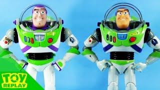 2016 Buzz VS 1995 Buzz Lightyear OCTOYBER Action Figure Unboxing Review Disney Toy Story #ToyReplay