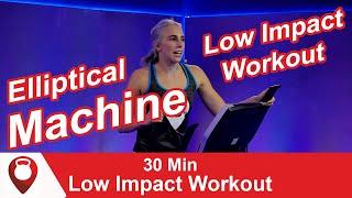 30 Min Elliptical Machine Low Impact Workout | Fitscope Studio