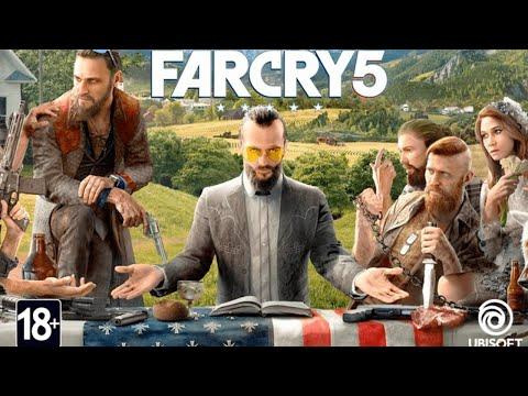 Far Cry 5: Прохождение с комментариями на русском. (НОВОГОДНИЙ!!!) Стрим. Часть 1