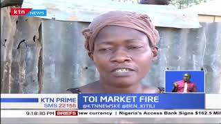 Kibera's Toi Market goes up in flames